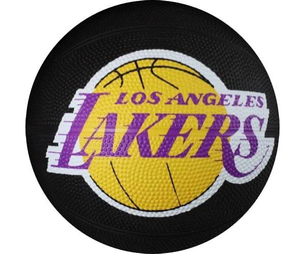 Spalding Los Angeles Lakers Mini Basketball product image