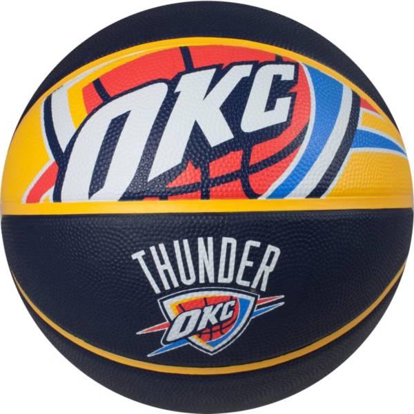 Spalding Oklahoma City Thunder Full-Sized Court Side Basketball product image