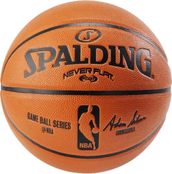 "Spalding NBA Replica NEVERFLAT Basketball (28.5"") product image"