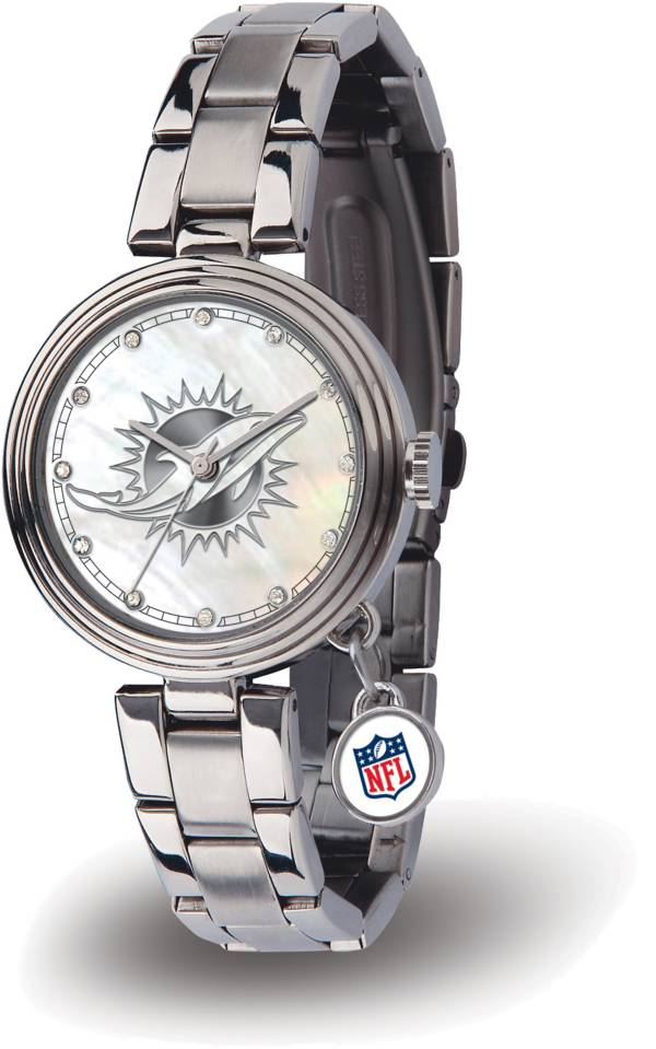 Sparo Women's Miami Dolphins Charm Watch product image