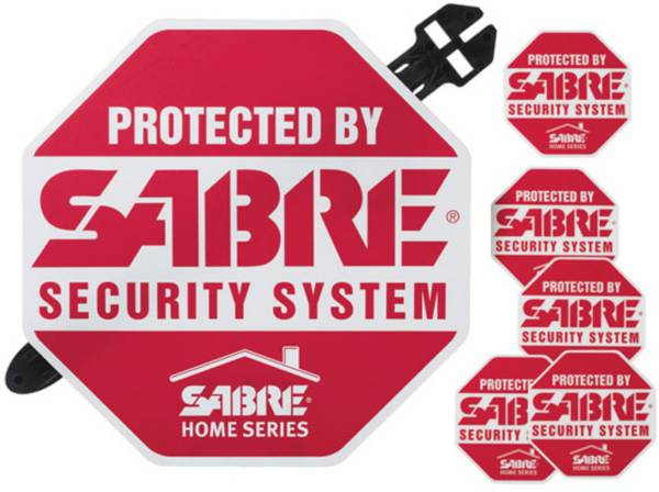 SABRE Yard Sign and Security Decals product image