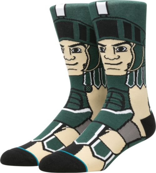a696bc680e5 Stance Michigan State Spartans Mascot Socks. noImageFound. 1