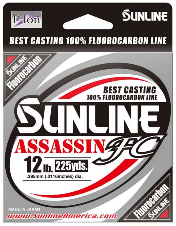 Sunline Assassin FC Fluorocarbon Fishing Line product image