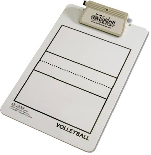 Tandem Coach's Deluxe Volleyball Clipboard product image