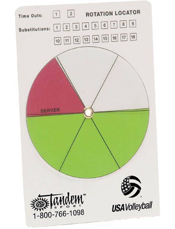 Tandem Volleyball Rotation Locator product image