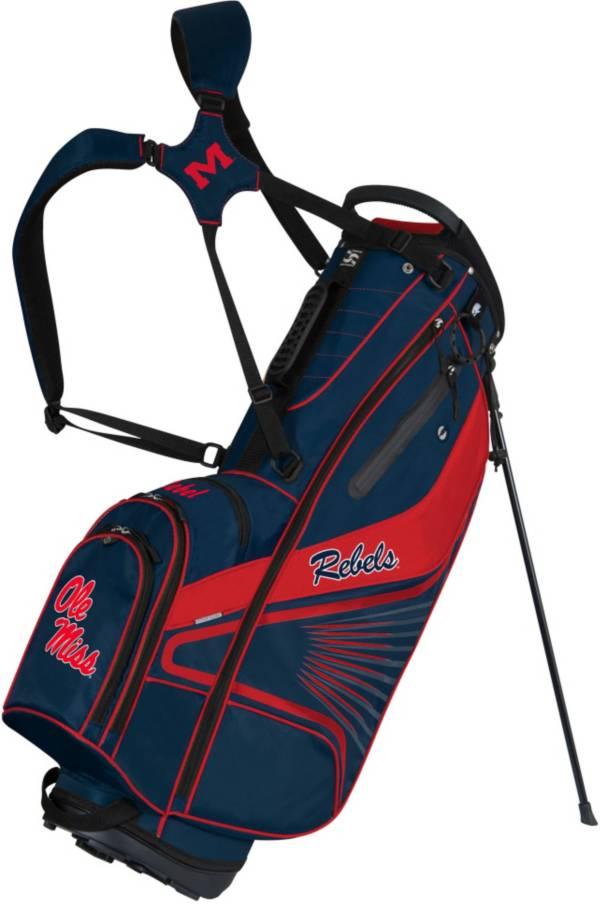 Team Effort GridIron III Ole Miss Rebels Stand Bag product image