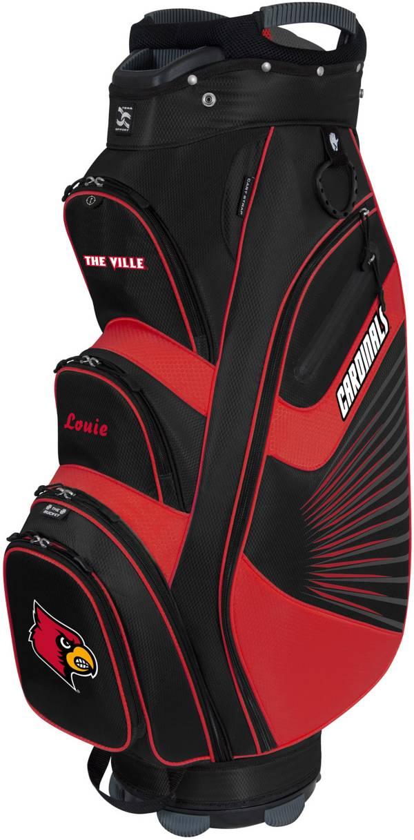 Team Effort The Bucket II Louisville Cardinals Cooler Cart Bag product image