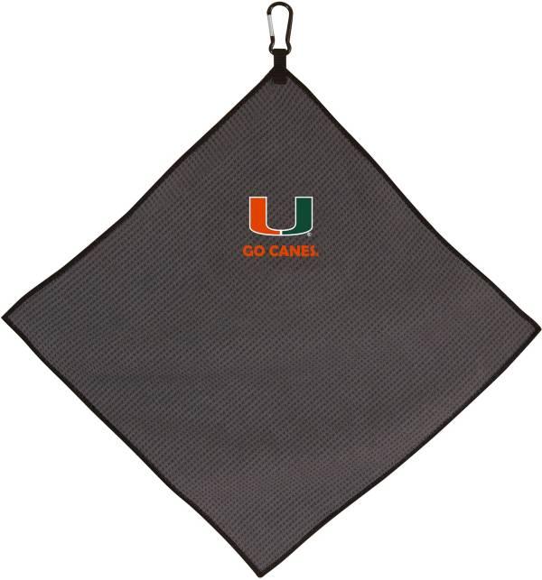 Team Effort Miami Hurricanes Microfiber Towel product image