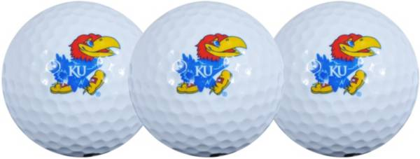 Team Effort Kansas Jayhawks Golf Balls - 3-Pack product image
