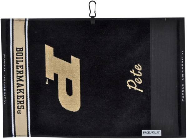 Team Effort Purdue Boilermakers Jacquard Golf Towel product image