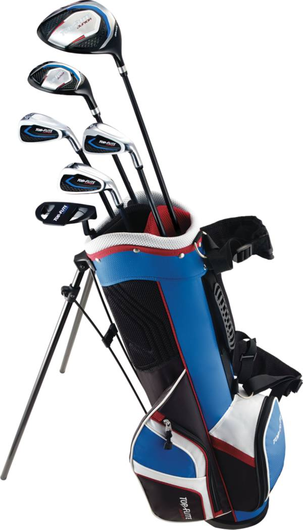 Top Flite Kids 9 Piece Complete Set Height 53 And Above Golf Galaxy