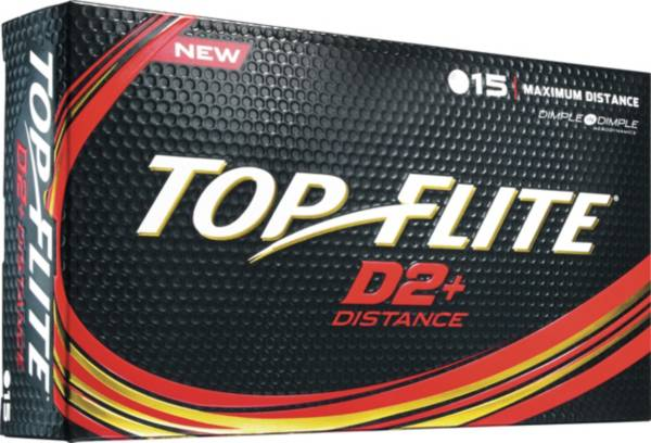 Top Flite 2016 D2+ Distance Golf Balls – 15 Pack product image