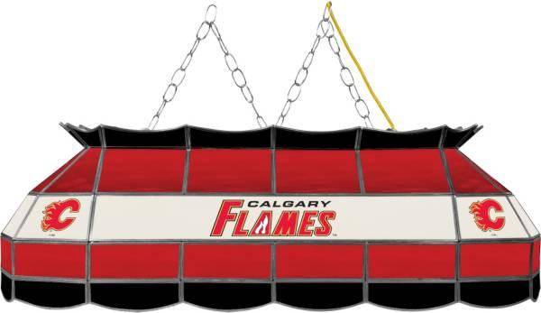 Trademark Games Calgary Flames 40'' Tiffany Lamp product image