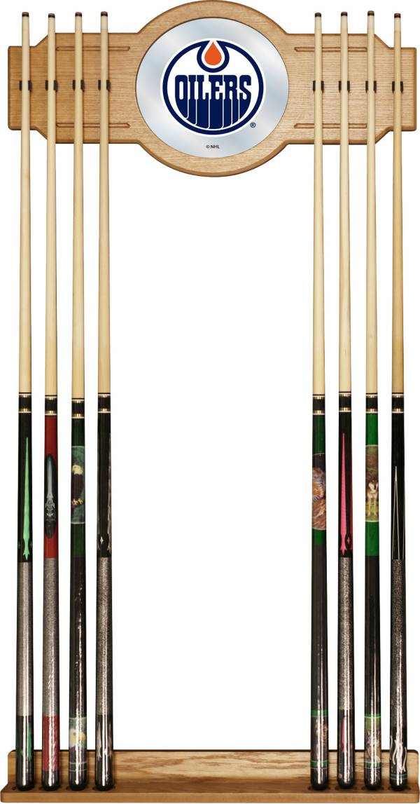 Trademark Games Edmonton Oilers Cue Rack product image
