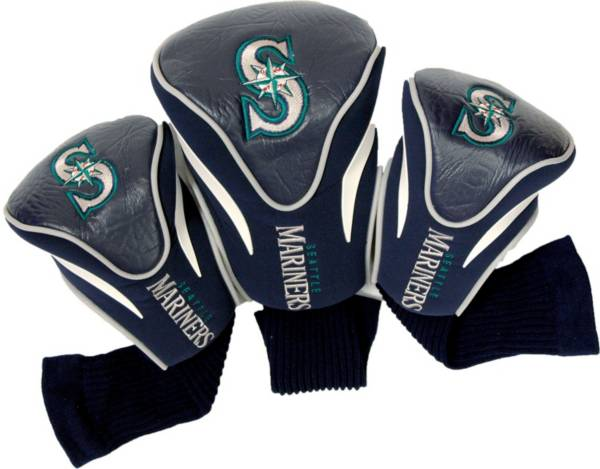 Team Golf Seattle Mariners Contoured Headcovers - 3-Pack product image