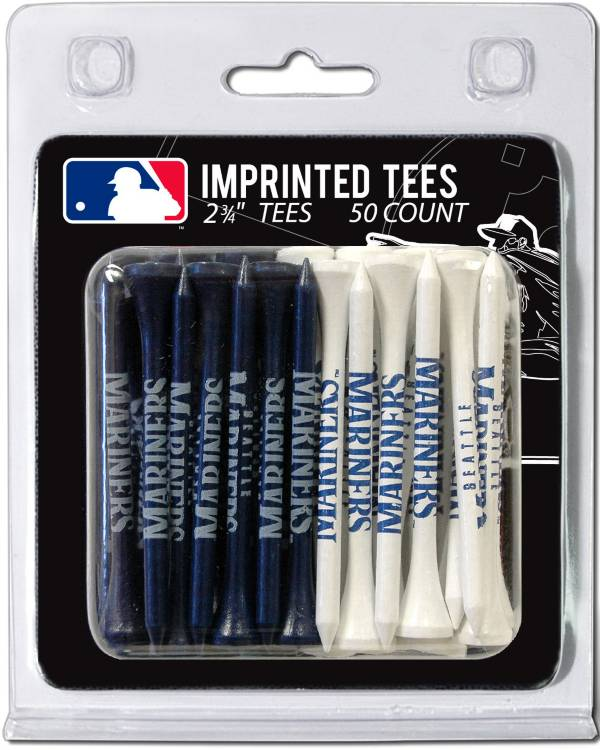 Team Golf Seattle Mariners 2.75'' Golf Tees - 50 Pack product image