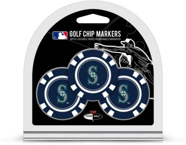 Team Golf Seattle Mariners Golf Chips - 3 Pack product image