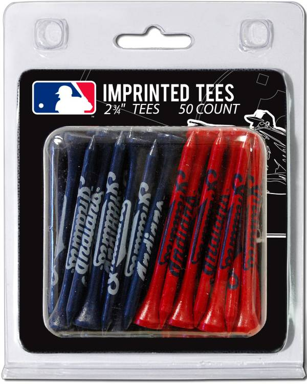 Team Golf Cleveland Indians 2.75'' Golf Tees - 50 Pack product image