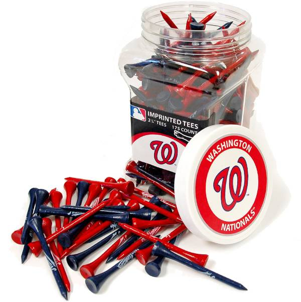 "Team Golf Washington Nationals 2.75"" Golf Tees - 175 Pack product image"