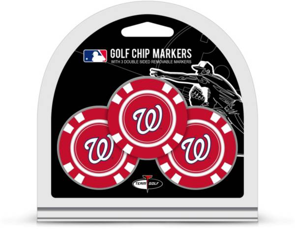 Team Golf Washington Nationals Golf Chips - 3 Pack product image
