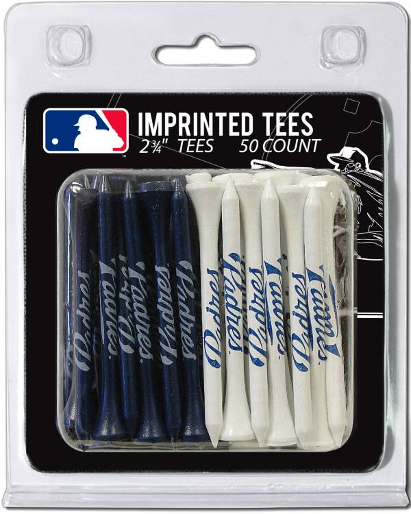 Team Golf San Diego Padres 2.75'' Golf Tees - 50 Pack product image