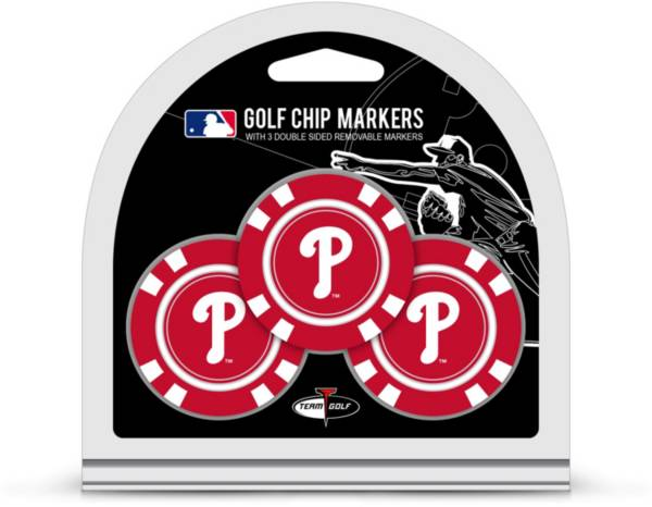 Team Golf Philadelphia Phillies Poker Chips Ball Markers - 3-Pack product image