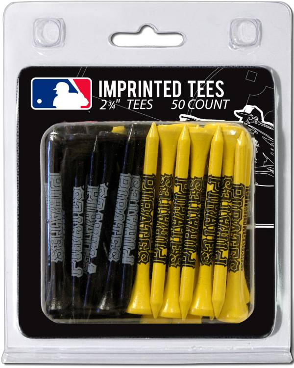 Team Golf Pittsburgh Pirates 2.75'' Golf Tees - 50 Pack product image