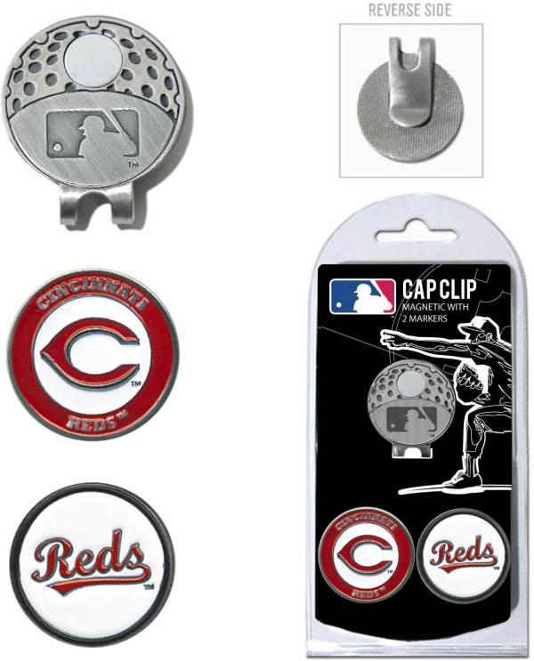 Team Golf Cincinnati Reds Cap Clip and Marker Set product image