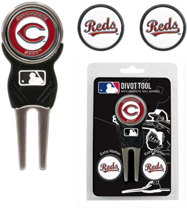 Team Golf Cincinnati Reds Divot Tool and Marker Set product image
