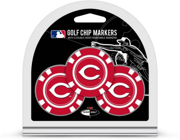 Team Golf Cincinnati Reds Poker Chips Ball Markers - 3-Pack product image