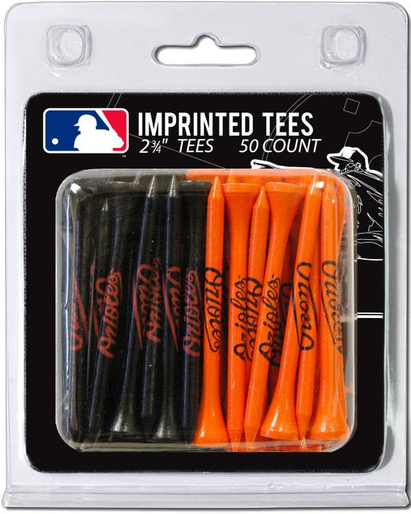 Team Golf Baltimore Orioles 2.75'' Golf Tees - 50 Pack product image