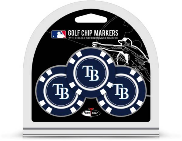 Team Golf Tampa Bay Rays Poker Chips Ball Markers - 3-Pack product image