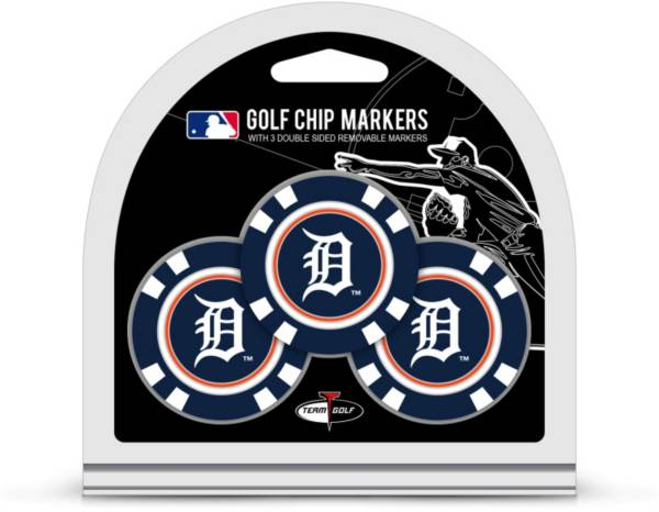 Team Golf Detroit Tigers Poker Chips Ball Markers - 3-Pack product image