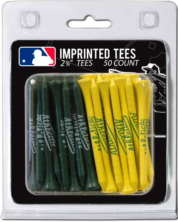 Team Golf Oakland Athletics 2.75'' Golf Tees - 50 Pack product image