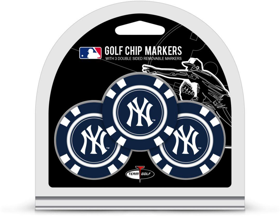 2e6bd2bee2fe3e Team Golf New York Yankees Poker Chips Ball Markers - 3-Pack. noImageFound.  1
