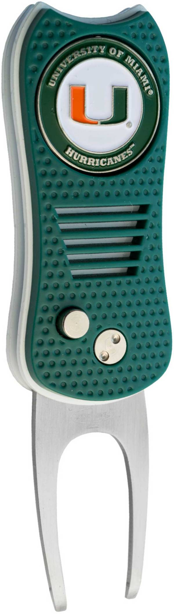 Team Golf Switchfix Miami Hurricanes Divot Tool product image