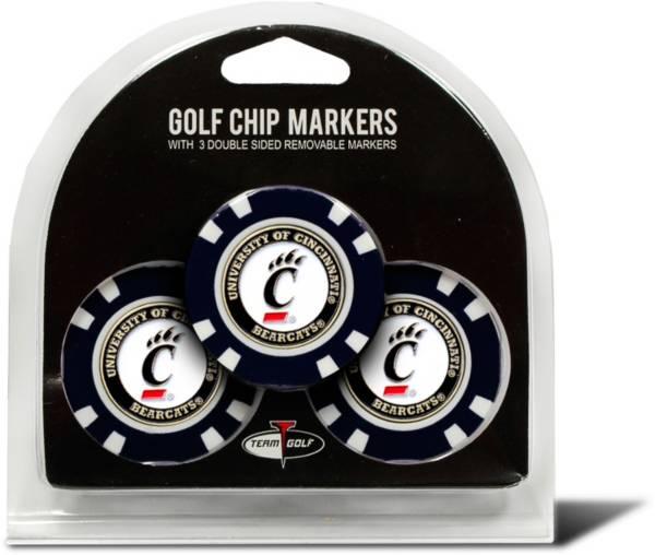 Team Golf Cincinnati Bearcats Poker Chips Ball Markers - 3-Pack product image
