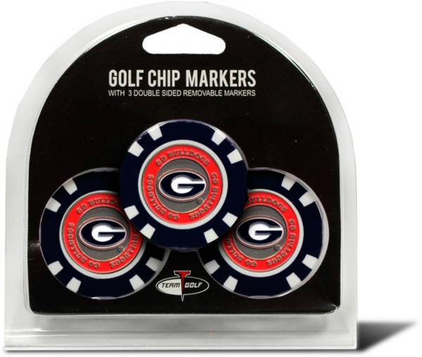 Team Golf Georgia Bulldogs Poker Chips Ball Markers - 3-Pack product image