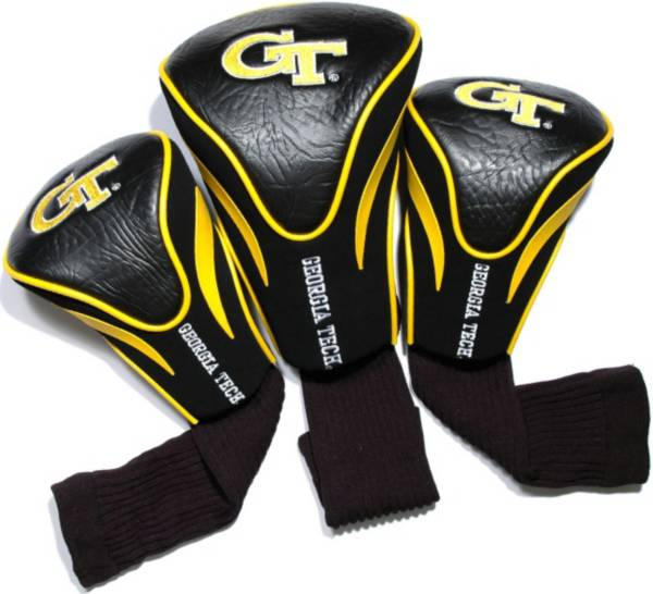 Team Golf Georgia Tech Yellow Jackets Contour Headcovers - 3-Pack product image