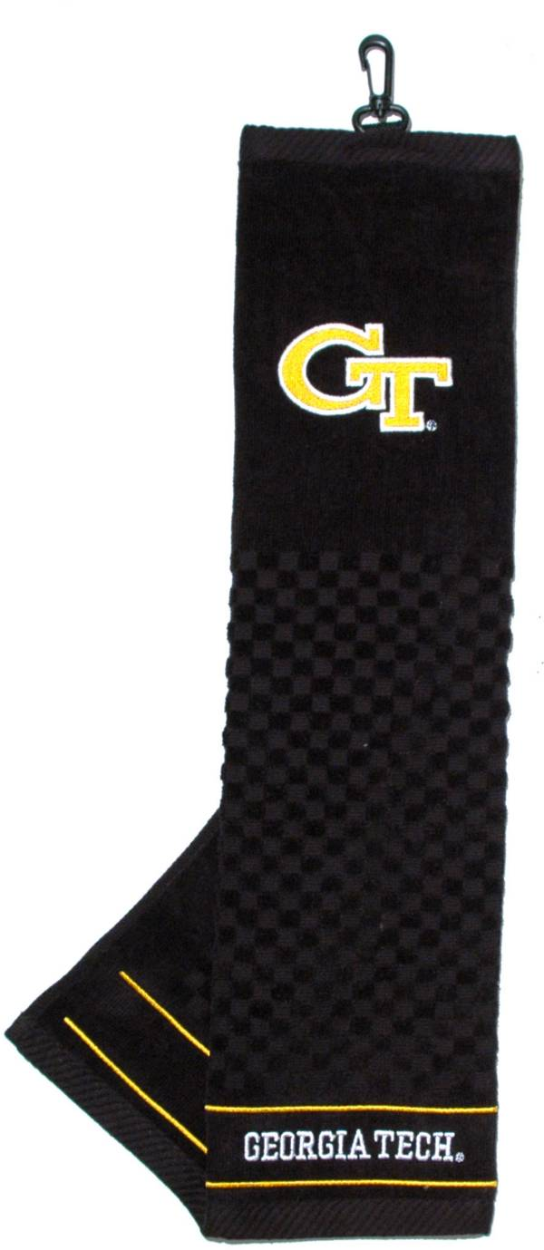 Team Golf Georgia Tech Yellow Jackets Embroidered Towel product image