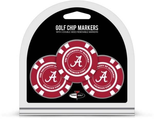 Team Golf Alabama Crimson Tide Poker Chips Ball Markers - 3-Pack product image