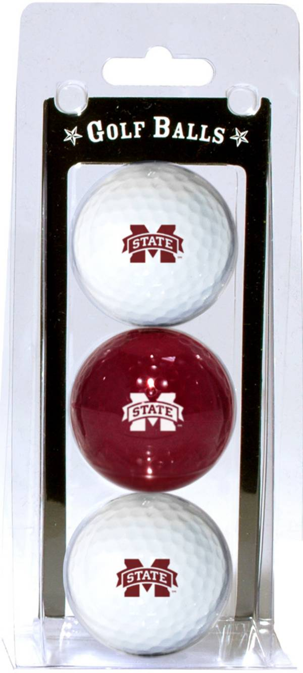 Team Golf Mississippi State Bulldogs Golf Balls - 3-Pack product image