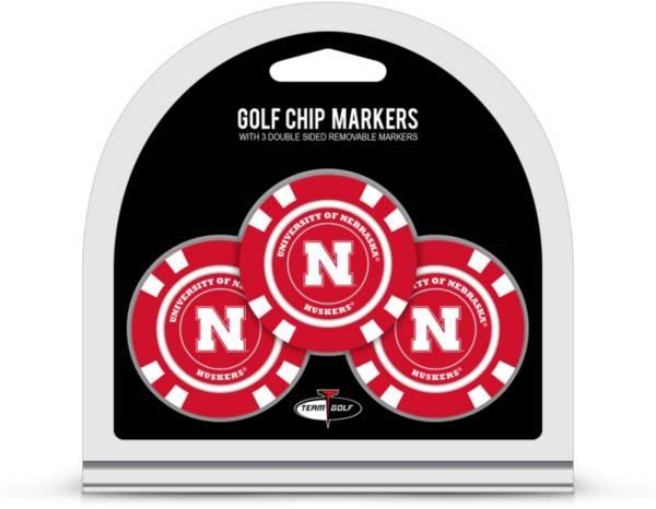 Team Golf Nebraska Cornhuskers Golf Chips - 3 Pack product image