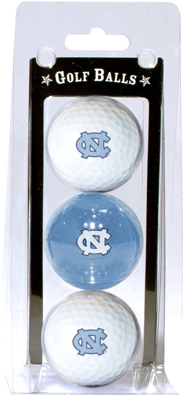 Team Golf North Carolina Tar Heels Golf Balls - 3 Pack product image