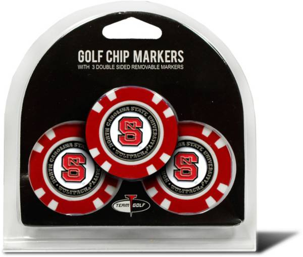 Team Golf NC State Wolfpack Poker Chips Ball Markers - 3-Pack product image