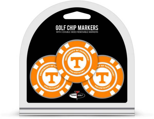 Team Golf Tennessee Volunteers Poker Chips Ball Markers - 3-Pack product image