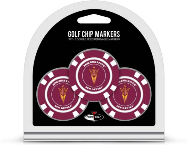 Team Golf Arizona State Sun Devils Golf Chips - 3 Pack product image
