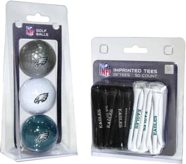 Team Golf Philadelphia Eagles 3 Ball/50 Tee Combo Gift Pack product image