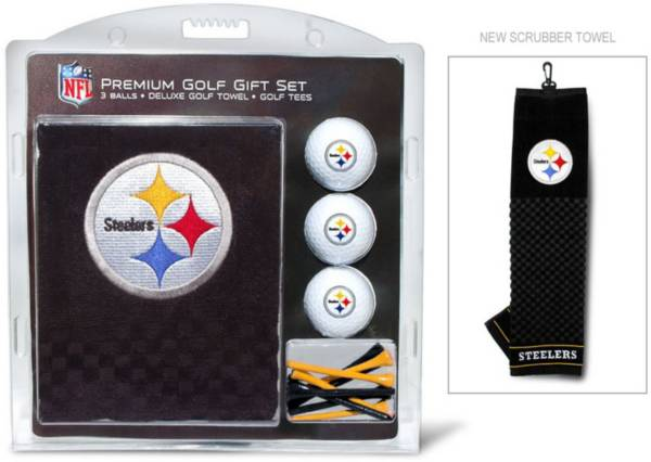 Team Golf Pittsburgh Steelers Embroidered Towel Gift Set product image