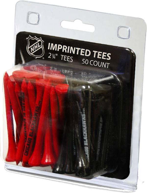 "Team Golf Chicago Blackhawks 2 3/4"" Golf Tees - 50 Pack product image"